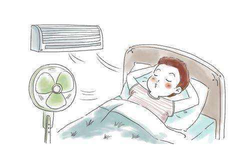 长期使用空调及暖气的人群