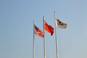 美国舒尔(Solve Air)环保科技空气净化器研发生产基地旗帜