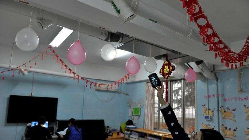 郑州市58所中小学试点安装校园新风系统
