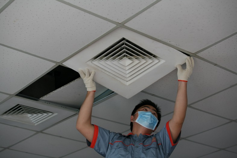 空气新风系统净化设备安装维护